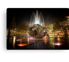 Fountains of Light Canvas Print