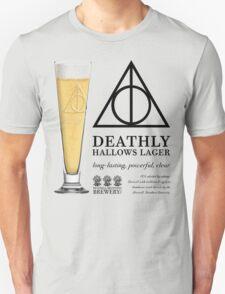 Deathly Hallows Lager (dark text) T-Shirt