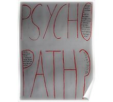 Psychopath? Poster