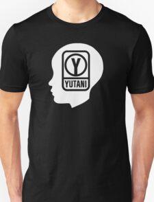 YUTANI Corporate Logo (Head version) [White] Unisex T-Shirt