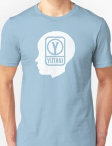 YUTANI Corporate Logo (Head version) [White] T-Shirt