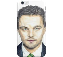 DiCaprio Drawing iPhone Case/Skin