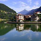 Alleghe village  by annalisa bianchetti
