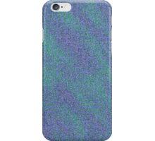 Green and Purple Glittery Swirls iPhone Case/Skin
