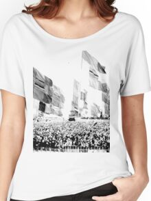 Glastonbury Flags Women's Relaxed Fit T-Shirt