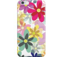 Blossoms in Bloom (Seamless Pattern) iPhone Case/Skin