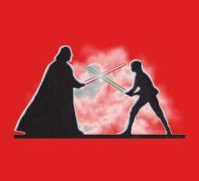 Vader Luke duel One Piece - Short Sleeve