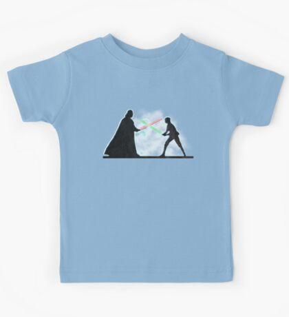 Vader Luke duel Kids Tee