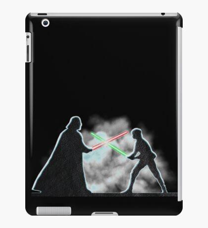 Vader Luke duel iPad Case/Skin