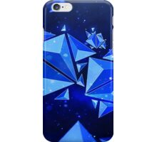 Blue Abstract Polygon Phone Case iPhone Case/Skin