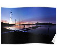 Lake Moogerah Dawn Poster