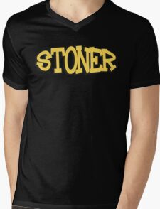 Stoner Weed Mens V-Neck T-Shirt