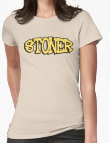 Stoner Weed Womens Fitted T-Shirt