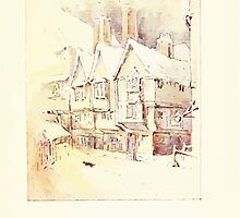 The Tailor of Gloucester Beatrix Potter 1903 0063 Cat In Snow by wetdryvac