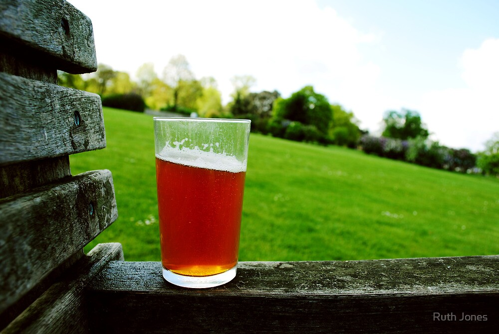 Summer Beer. by Ruth Jones