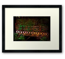 Beware of Trolls Framed Print