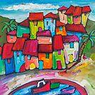 Costa Brava, Spain. by ART PRINTS ONLINE         by artist SARA  CATENA