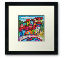 Costa Brava, Spain. Framed Print