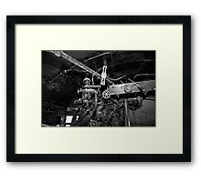 The Top of The Cab Framed Print