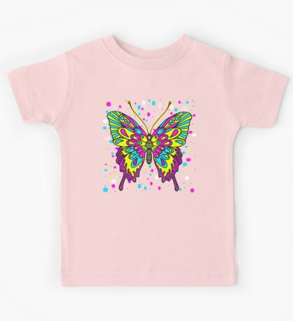 Original Colourful Butterfly Kids Tee