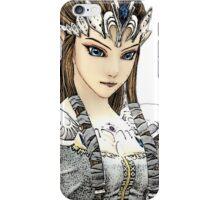 Zelda in White iPhone Case/Skin