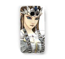 Zelda in White Samsung Galaxy Case/Skin