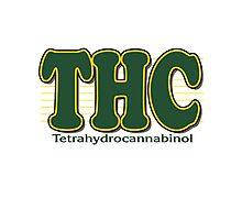 THC Cannabis Photographic Print