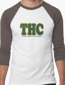 THC Cannabis Men's Baseball ¾ T-Shirt