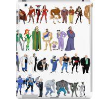Batman The Animated Series Villains iPad Case/Skin