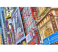 On Broadway - Theater District Photographic Print