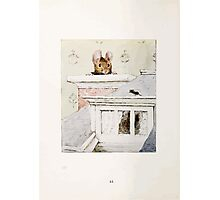 The Tale of Two Bad Mice Beatrix Potter 1904 0048 No Soot from the Chimney Photographic Print