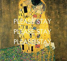 pvris / the kiss / klimt by PVRISfineart
