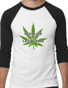 Legalize it Men's Baseball ¾ T-Shirt