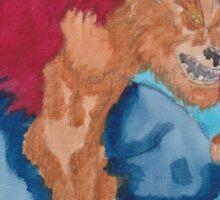 Wolfs Curse Sticker
