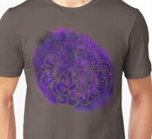 Galaxy Space Girl doodle Unisex T-Shirt