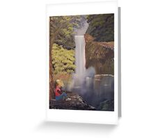 When catching fish does not matter Greeting Card