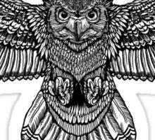 Owl  Flight Sticker