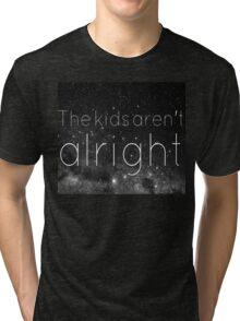 FOB - The Kids Aren't Alright Tri-blend T-Shirt