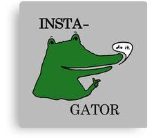 Inst(i)gator 2.0 Canvas Print