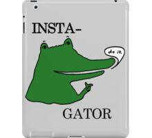 Inst(i)gator 2.0 iPad Case/Skin