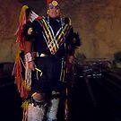 Navajo Fancy Dancer by Mitchell Tillison