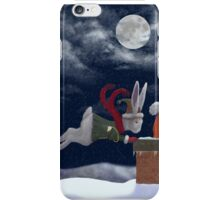 White Rabbit Christmas iPhone Case/Skin