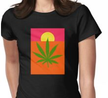 Marijuana Womens Fitted T-Shirt