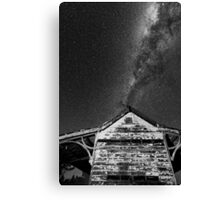Explode the roof Canvas Print