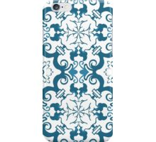 Seamless colourful ornament tiles iPhone Case/Skin