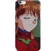 Neon Genesis Evangelion - Smug Asuka and Shinji - 2015 1080p Blu-Ray Cleaned Upscales iPhone Case/Skin
