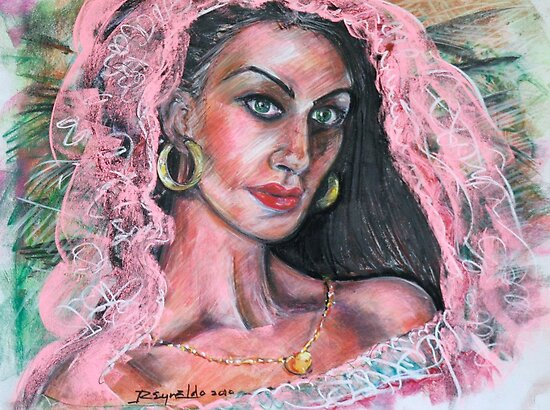 The Pink Veil by Reynaldo