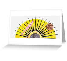 Astral Projection Greeting Card
