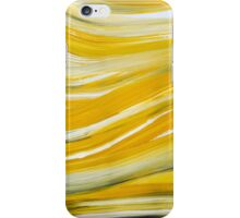 Gold Waves Abstract Painting iPhone Case/Skin