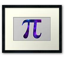 Pi Framed Print